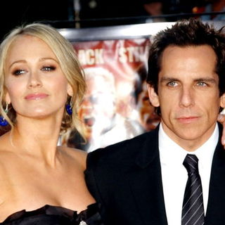 Ben Stiller, Christine Taylor in Tropic Thunder Los Angeles Premiere - Arrivals