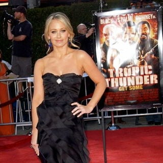 Christine Taylor in Tropic Thunder Los Angeles Premiere - Arrivals