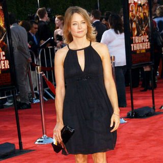 Jodie Foster in Tropic Thunder Los Angeles Premiere - Arrivals