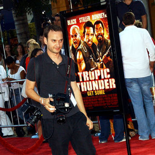Jeff Vespa in Tropic Thunder Los Angeles Premiere - Arrivals