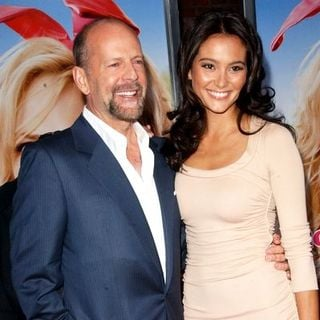 "Bruce Willis, Emma Heming in ""The House Bunny"" Los Angeles Premiere - Arrivals"