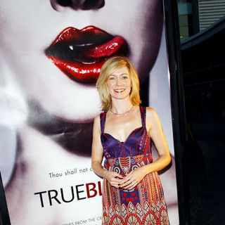 "Carrie Preston in HBO Series ""True Blood"" Los Angeles Premiere - Arrivals"