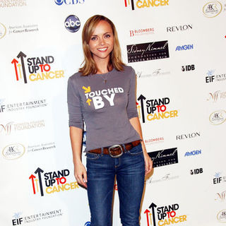 Christina Ricci - Stand Up To Cancer - Arrivals