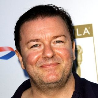 Ricky Gervais in BAFTA Hosts the 6th Annual TV Tea Party in Celebration of the 2008 Primetime Emmy Awards - Arrivals