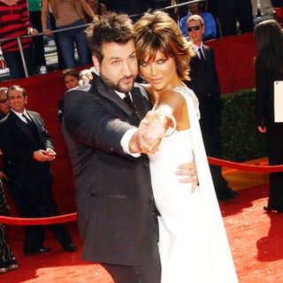 Joey Fatone, Lisa Rinna in 60th Primetime EMMY Awards - Arrivals
