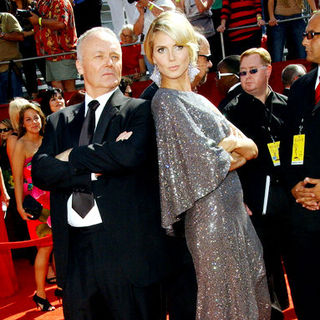 Creed Bratton, Heidi Klum in 60th Primetime EMMY Awards - Arrivals