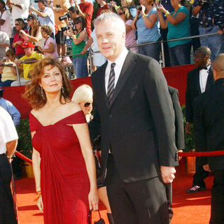 Susan Sarandon, Tim Robbins in 60th Primetime EMMY Awards - Arrivals