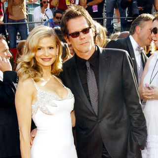 Kyra Sedgwick, Kevin Bacon in 60th Primetime EMMY Awards - Arrivals