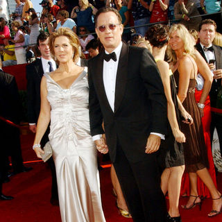 Rita Wilson, Tom Hanks in 60th Primetime EMMY Awards - Arrivals