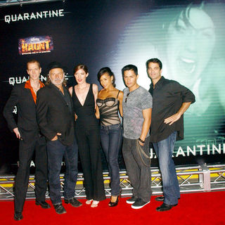 "Doug Jones, Rade Sherbedgia, Jennifer Carpenter, Dania Ramirez, Jay Hernandez, Johnathon Schaech in ""Quarantine"" Premiere - Arrivals"