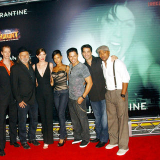 "Doug Jones, Rade Sherbedgia, Jennifer Carpenter, Dania Ramirez, Jay Hernandez, Johnathon Schaech, Columbus Short in ""Quarantine"" Premiere - Arrivals"