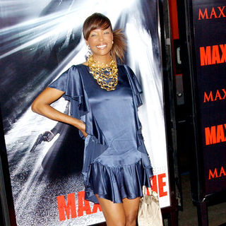 "Aisha Tyler in ""Max Payne"" Hollywood Premiere - Arrivals"