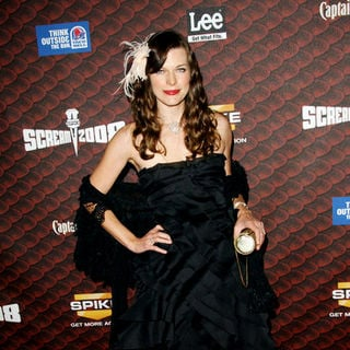 "Milla Jovovich in Spike TV's ""Scream 2008"" - Arrivals"
