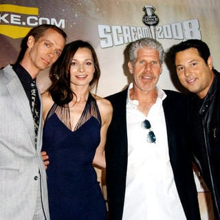 "Doug Jones, Anna Walton, Ron Pearlman, Greg Grunberg in Spike TV's ""Scream 2008"" - Arrivals"