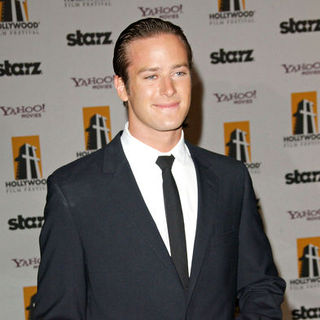 Armie Hammer in 12th Annual Hollywood Film Festival Award Show - Arrivals