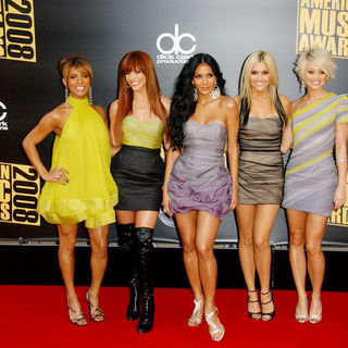 The Pussycat Dolls in 2008 American Music Awards - Arrivals