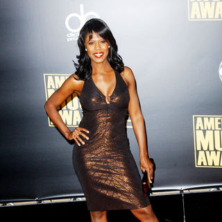 Omarosa in 2008 American Music Awards - Arrivals