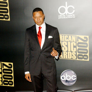 Terrence Howard in 2008 American Music Awards - Arrivals