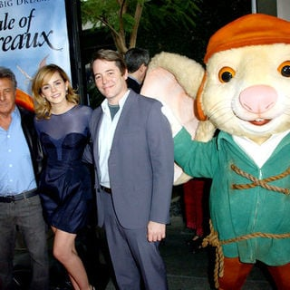 "Dustin Hoffman, Emma Watson, Matthew Broderick in ""The Tale of Despereaux"" World Premiere - Arrivals"