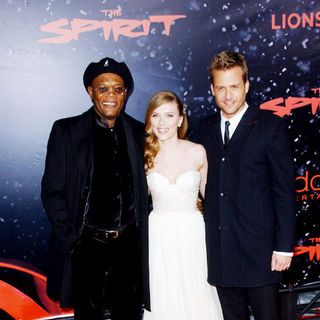 "Samuel L. Jackson, Scarlett Johansson, Gabriel Macht in ""The Spirit"" Hollywood Premiere - Arrivals"