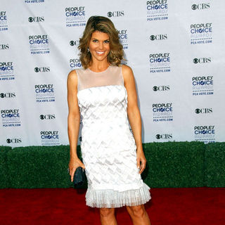 Lori Loughlin in 35th Annual People's Choice Awards - Arrivals