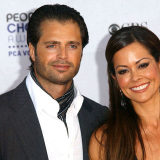Brooke Burke, David Charvet in 35th Annual People's Choice Awards - Arrivals