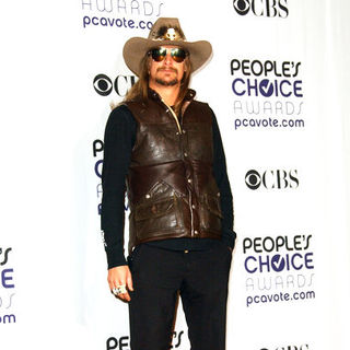 Kid Rock in 35th Annual People's Choice Awards - Press Room