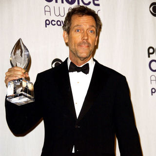 Hugh Laurie in 35th Annual People's Choice Awards - Press Room