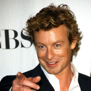 Simon Baker in 35th Annual People's Choice Awards - Press Room