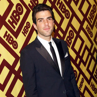 Zachary Quinto in 66th Annual Golden Globes HBO After Party - Arrivals