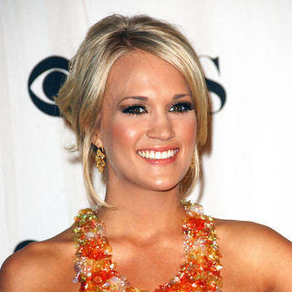 Carrie Underwood in 35th Annual People's Choice Awards - Press Room