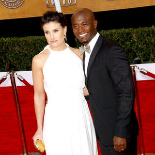 Idina Menzel, Taye Diggs in 15th Annual Screen Actors Guild Awards - Arrivals