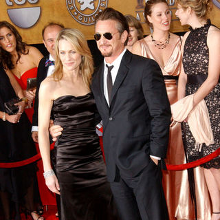 Sean Penn, Robin Wright Penn in 15th Annual Screen Actors Guild Awards - Arrivals