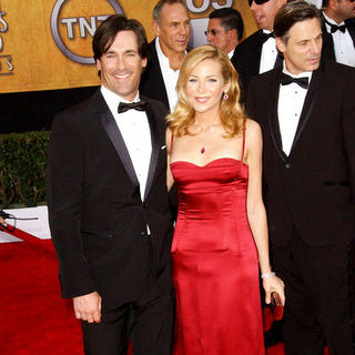Jon Hamm, Jennifer Westfeldt in 15th Annual Screen Actors Guild Awards - Arrivals