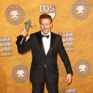 Hugh Laurie in 15th Annual Screen Actors Guild Awards - Press Room