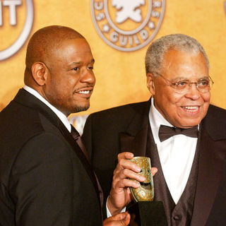 Forest Whitaker, James Earl Jones in 15th Annual Screen Actors Guild Awards - Press Room