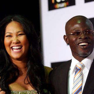 "Djimon Hounsou, Kimora Lee Simmons in ""Push"" Los Angeles Premiere - Arrivals"