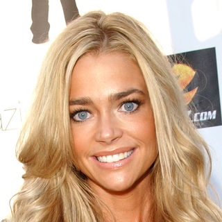 Denise Richards in 2nd Annual Financially Hung Game Date at the Playboy Mansion - Arrivals