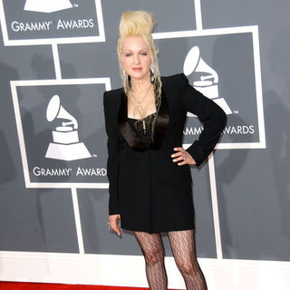 Cyndi Lauper in The 51st Annual GRAMMY Awards - Arrivals