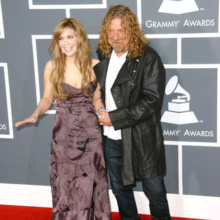 Robert Plant, Alison Krauss in The 51st Annual GRAMMY Awards - Arrivals