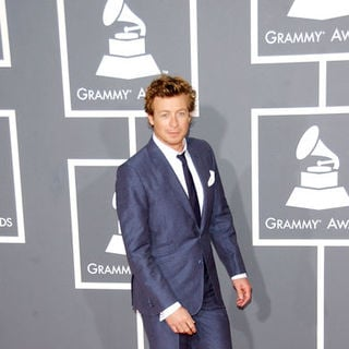 Simon Baker in The 51st Annual GRAMMY Awards - Arrivals