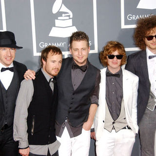 OneRepublic in The 51st Annual GRAMMY Awards - Arrivals