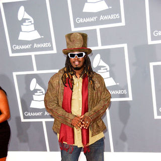 T-Pain in The 51st Annual GRAMMY Awards - Arrivals