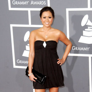 Kathryn Le in The 51st Annual GRAMMY Awards - Arrivals