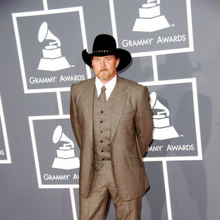 Trace Adkins in The 51st Annual GRAMMY Awards - Arrivals