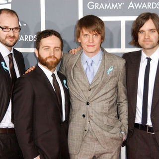 Death Cab for Cutie in The 51st Annual GRAMMY Awards - Arrivals - ALO-057432