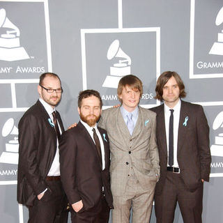 Death Cab for Cutie in The 51st Annual GRAMMY Awards - Arrivals - ALO-057433