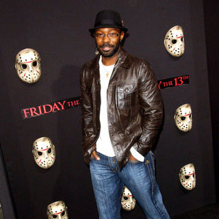 "Nelsan Ellis in ""Friday The 13th"" Los Angeles Premiere - Arrivals"