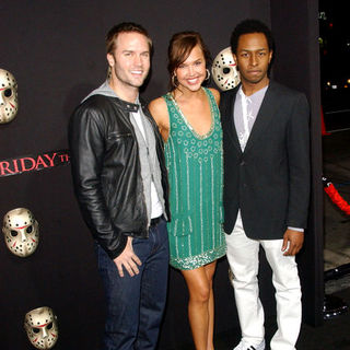 "Arielle Kebbel, Scott Porter in ""Friday The 13th"" Los Angeles Premiere - Arrivals"