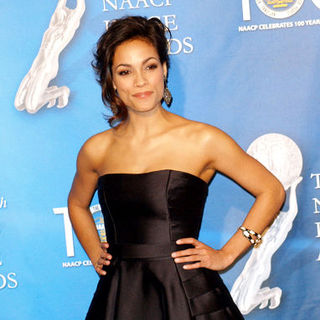 Rosario Dawson in 40th NAACP Image Awards - Press Room